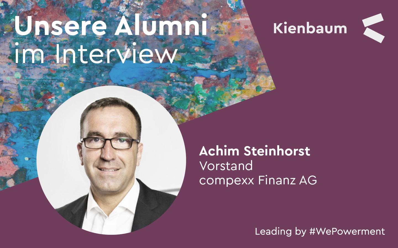 Kienbaum Alumnus Achim Steinhorst im Interview